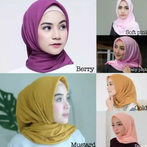 Tren Hijab 2018 model poton