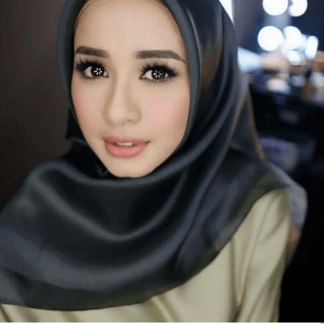 Tren hijab 2018 organza