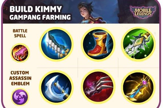 Build Kimmy Khusus Farming