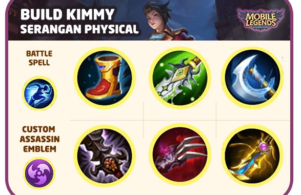 Build Kimmy Physical Damage (Basic Attack Jos!)