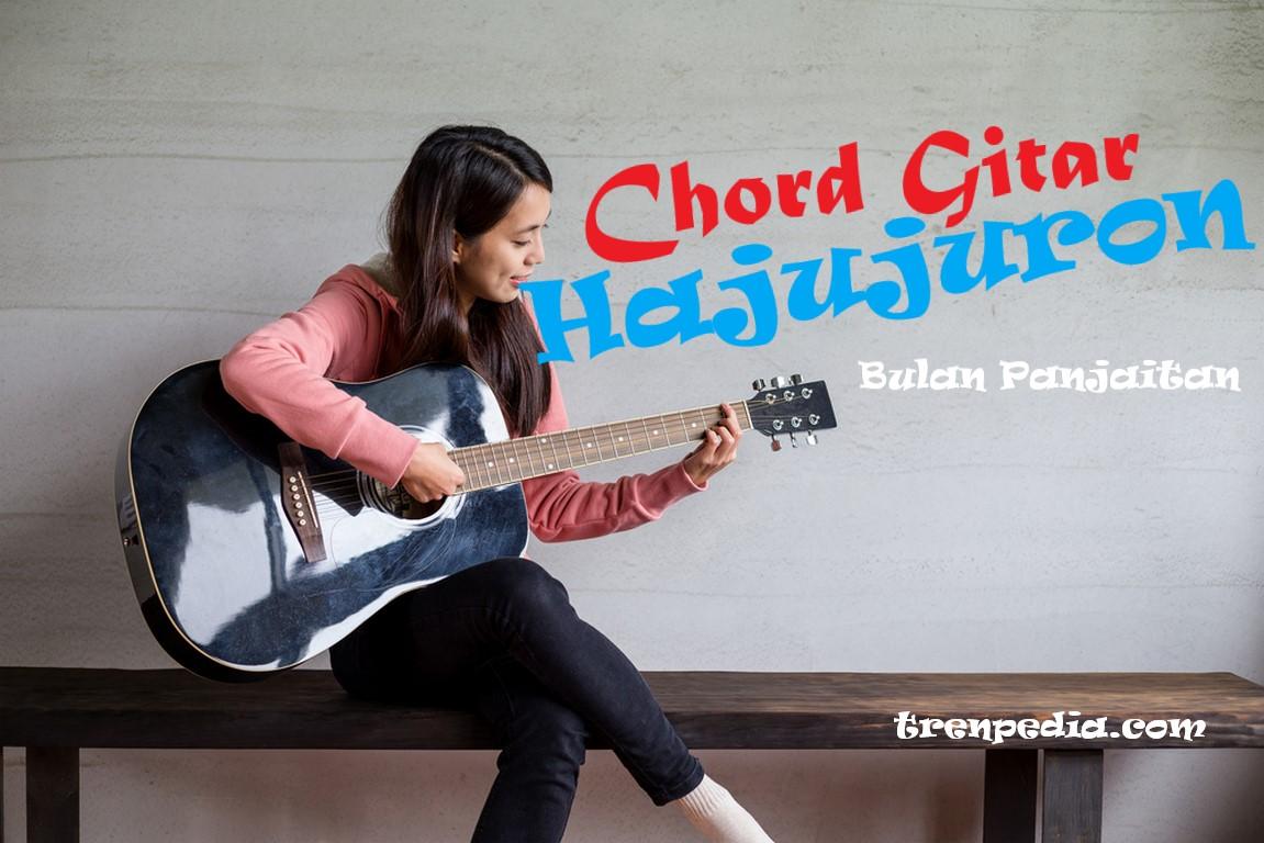 chord gitar hajujuron - bulan panjaitan