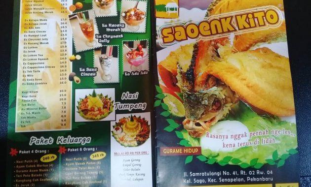 saoenk kito tempat bukber di pekanbaru