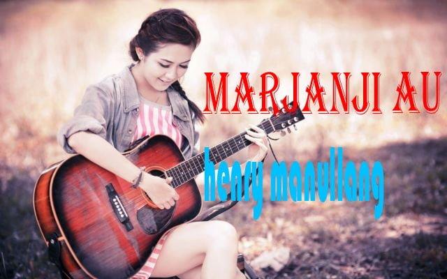 chord marjanji au henry manullang kunci gitar marjanji au